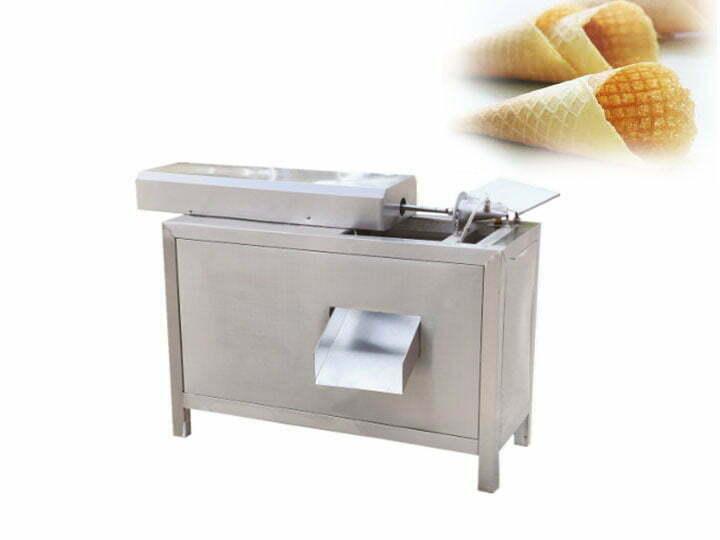 waffle ice cream cone forming machine