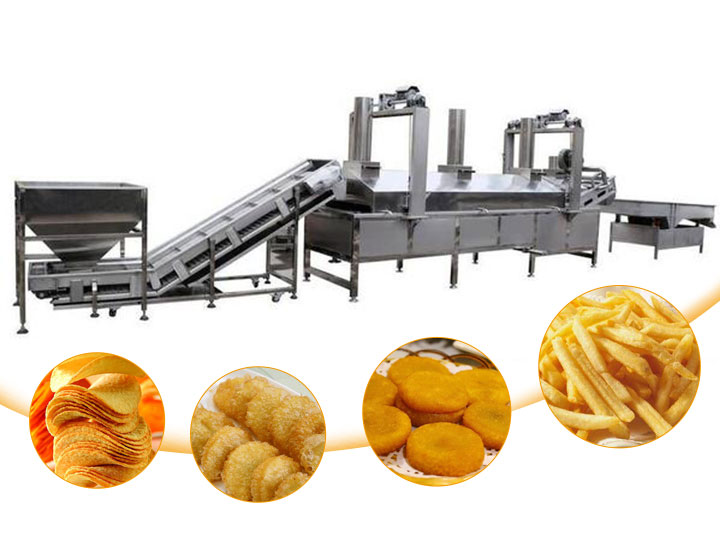 fried food production line