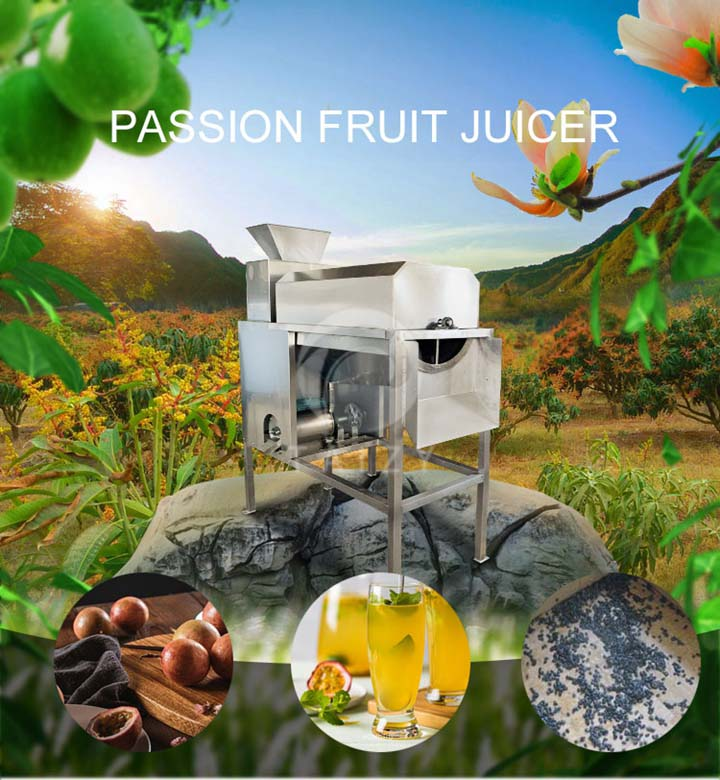passion fruit juicer machine