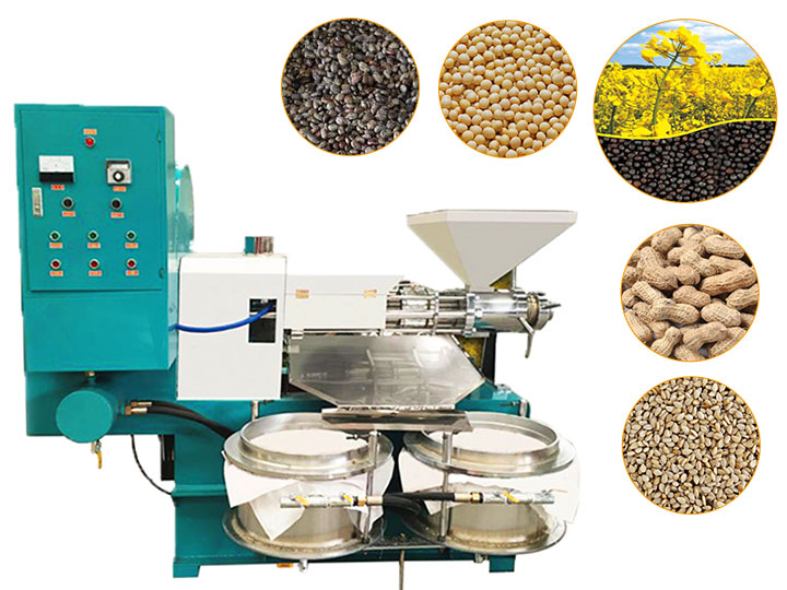 screw oil press extractor machine