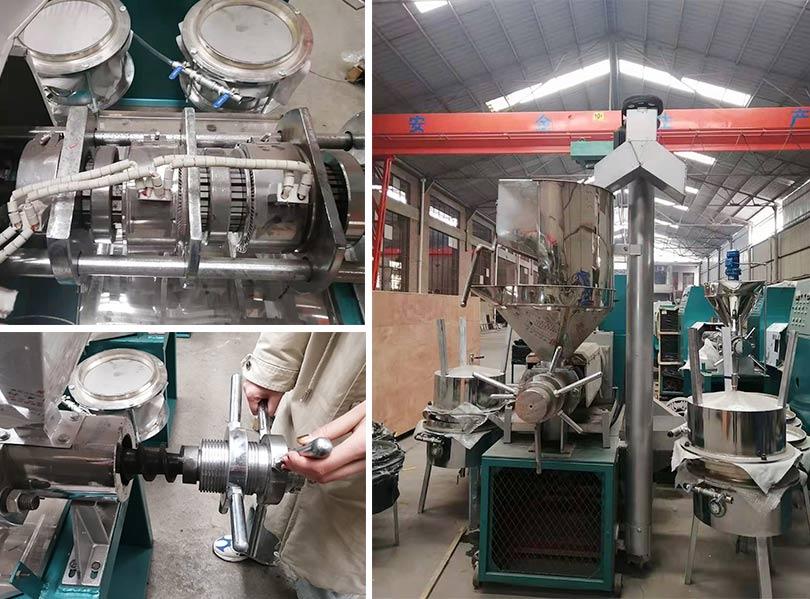 screw peanut oil press machine details