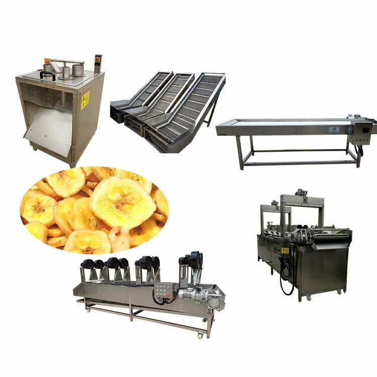 small banana chips processing line
