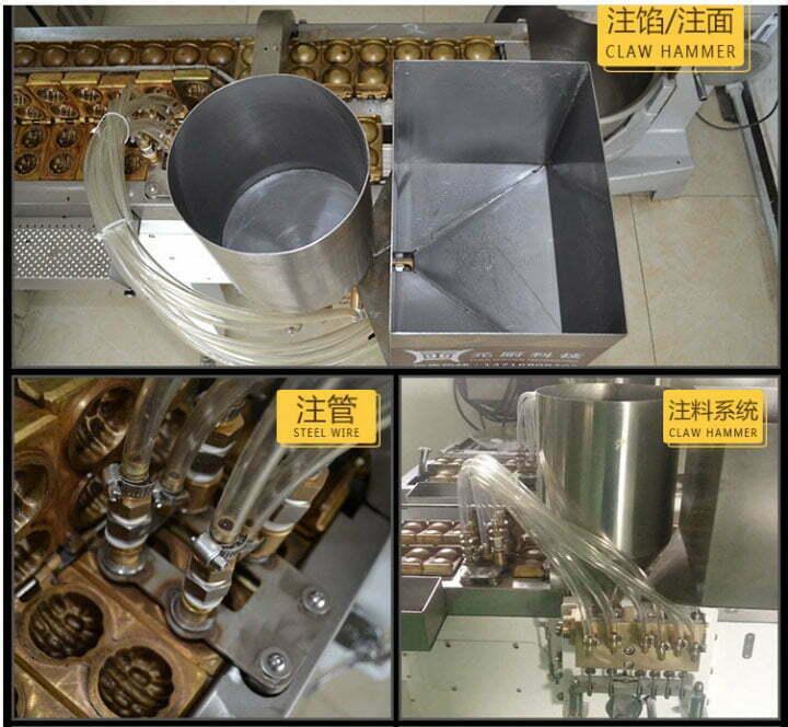 Taiyaki making machine structure