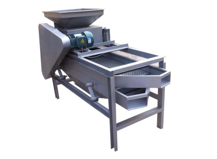 almond shelling sheller machine