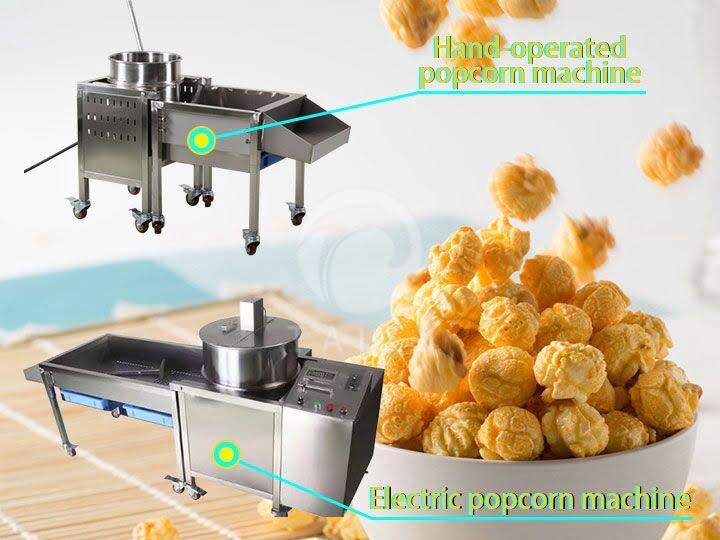 automatic cereal popcorn machine