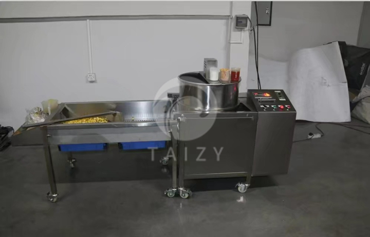 industrial popcorn making machinery factory