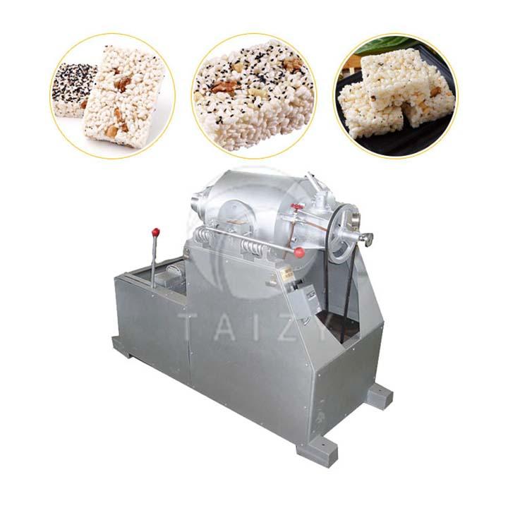 airflow grain puffing machine