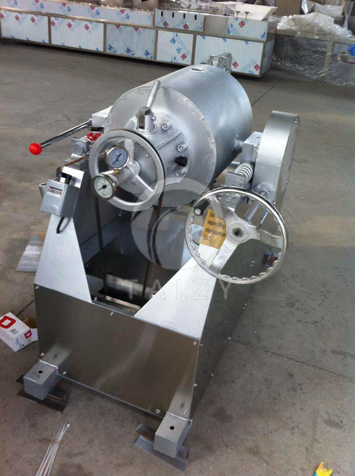 popcorn air puffing machine