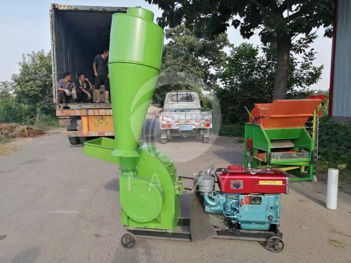delivery site of cassava grinding machine