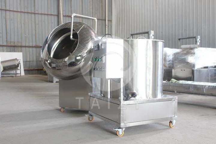 nut coating machine
