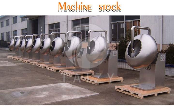 peanut coating machine stock