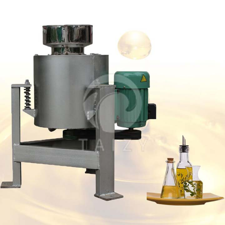 Centrifugal oil cleaning machine