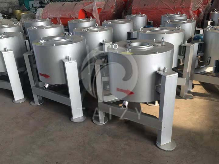 commercial centrifugal oil filter machine