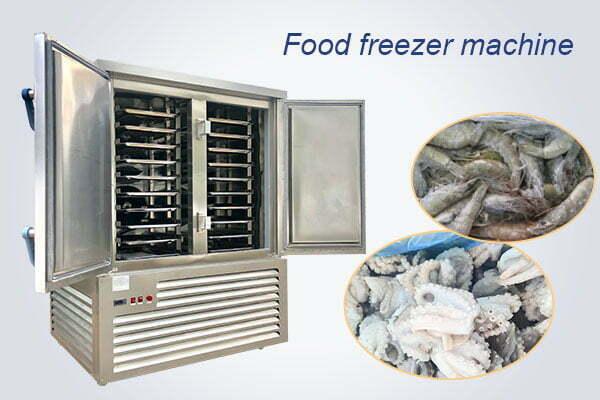industrial food freezer
