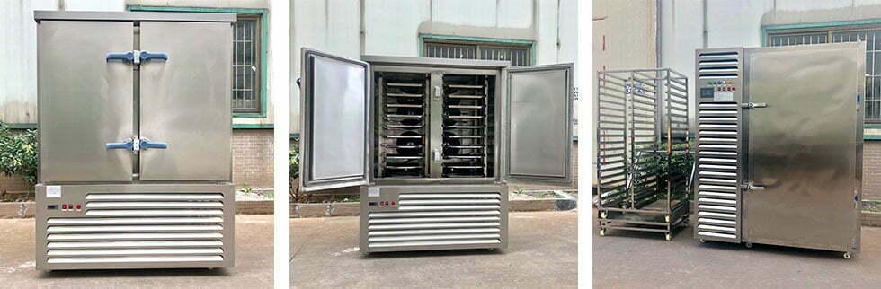 industrial food freezing machine manufacturer