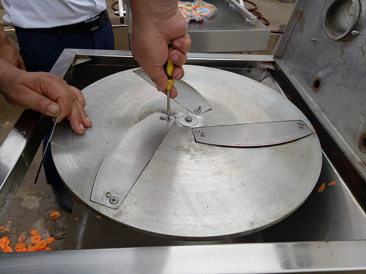 plantain chips cutting machine blades