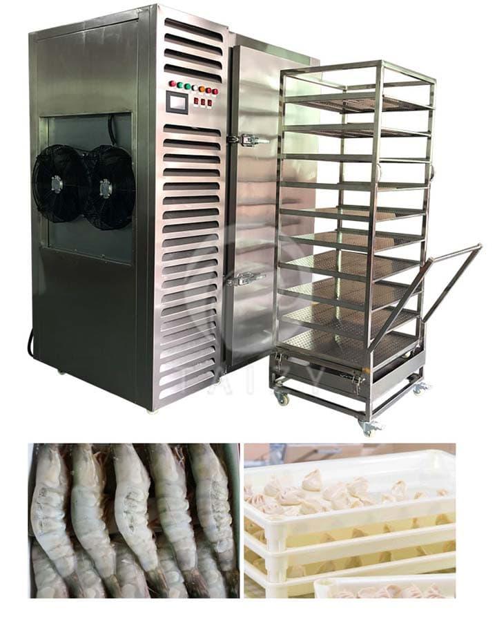 steamed bun freezer