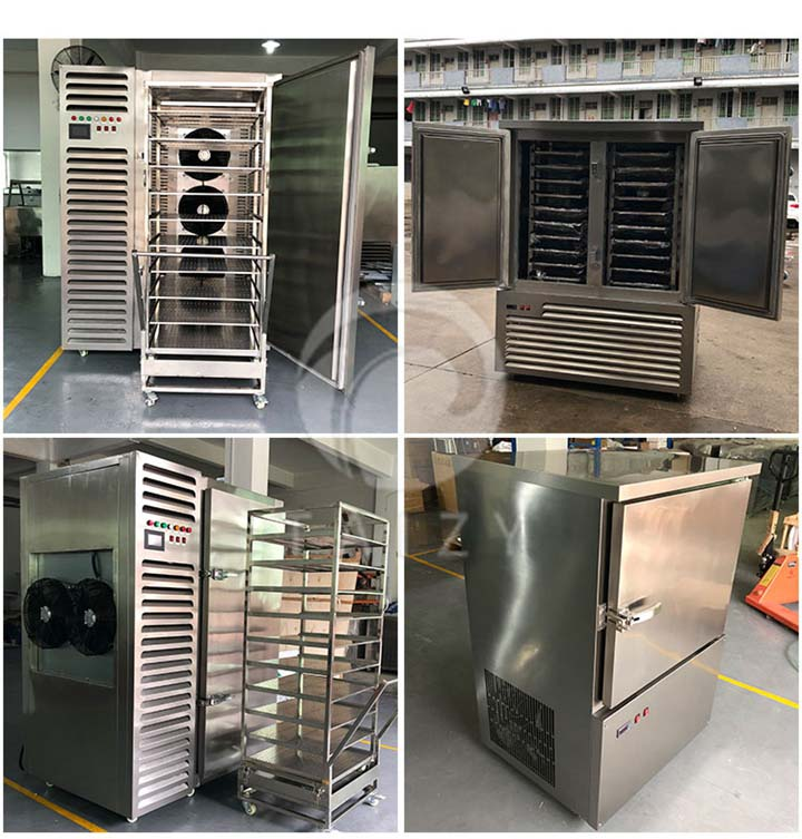 quick freezer stock