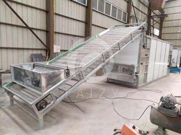 mesh belt food dryer
