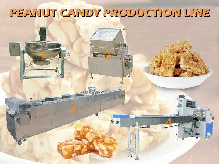 peanut candy production line