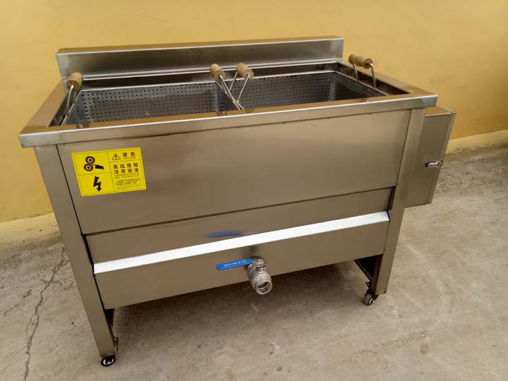 potato chips blanching machine