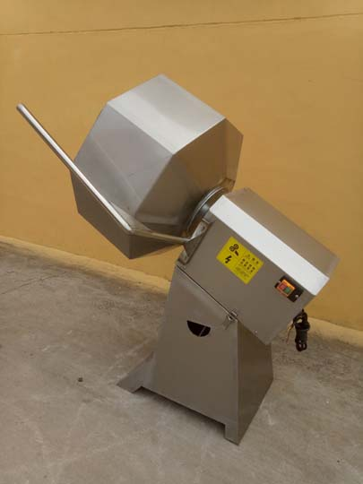 potato chips flavoring machine