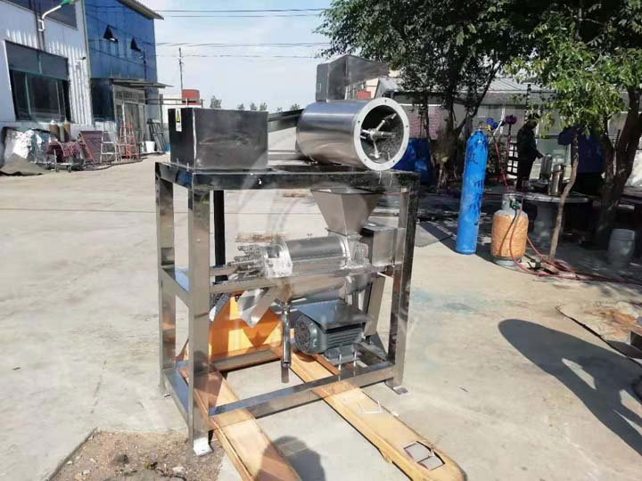 delivery site of juicing machine