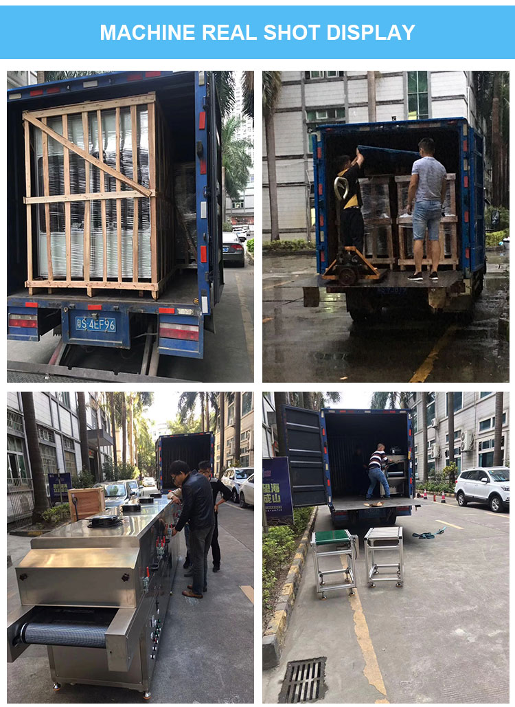 Ultraviolet sterilization machine delivery picture