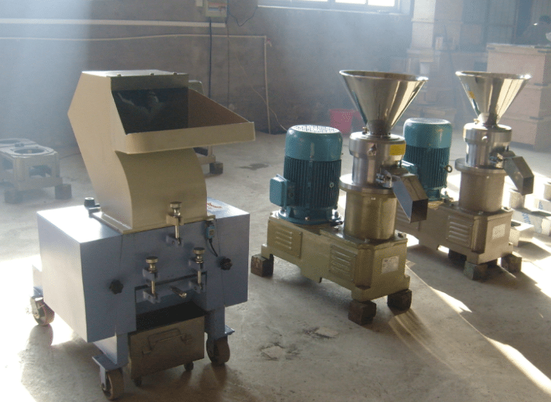 bone crusher and colloid mill