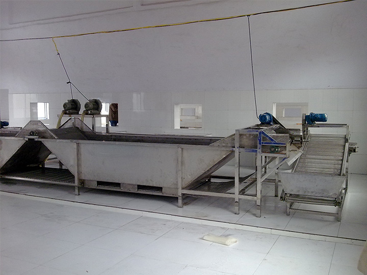 Qatar vegetable washing machine