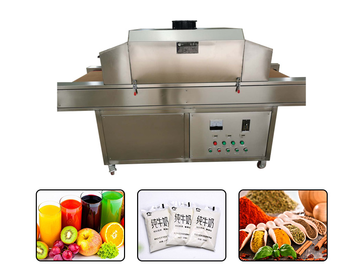 UV food sterilizer machine