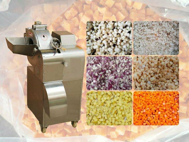 commercial onion,potato,tomato dicer machine