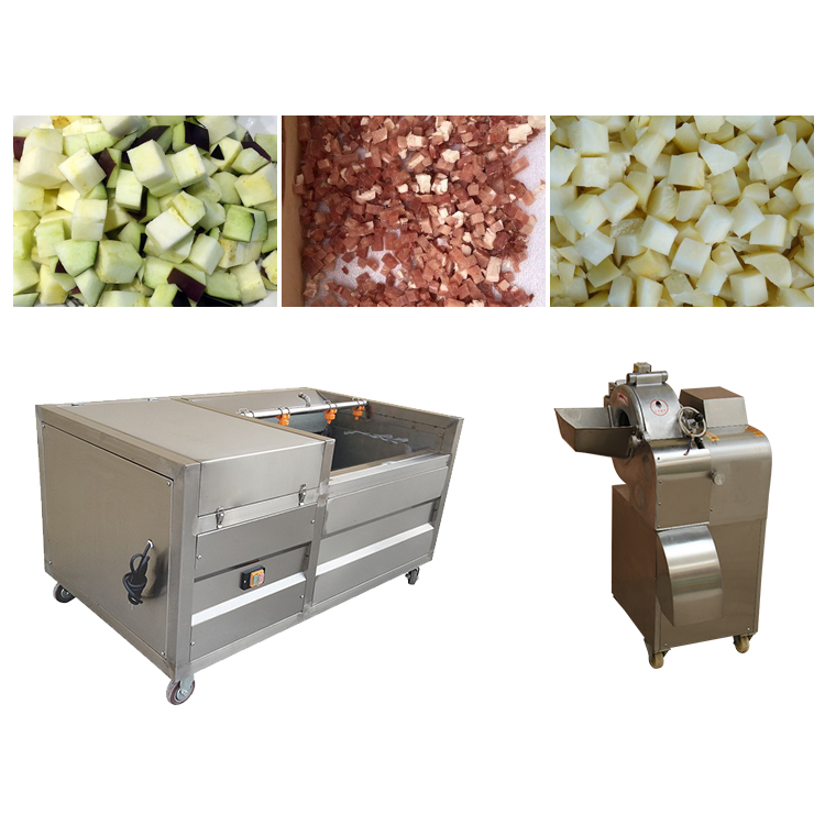 electric vegetable and fruit dicer machine