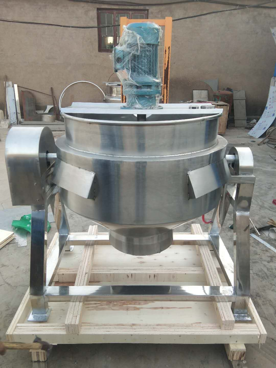 steam jacketed kettle deliver to Philippines