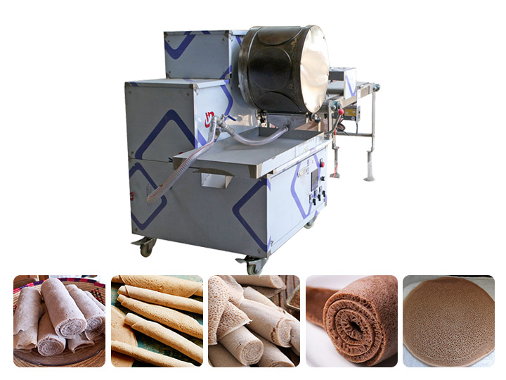 Ethiopian automatic Injera making machine