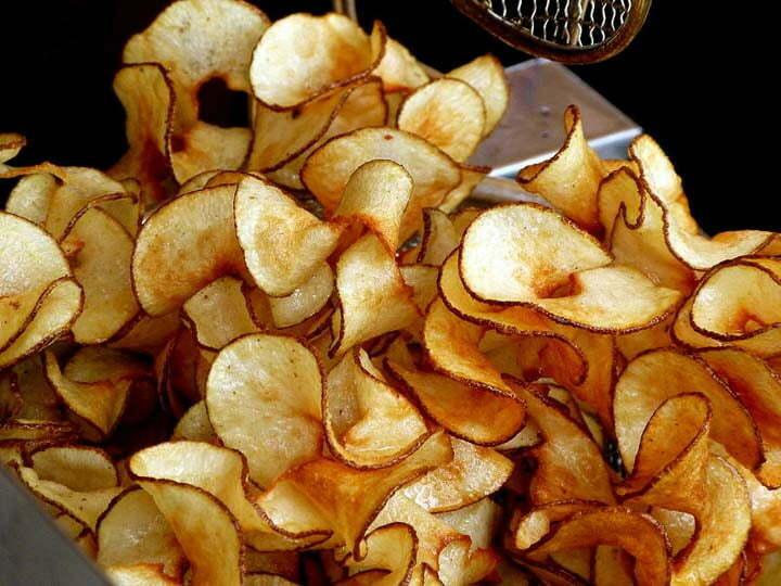 kettle chips VS regular potato chips