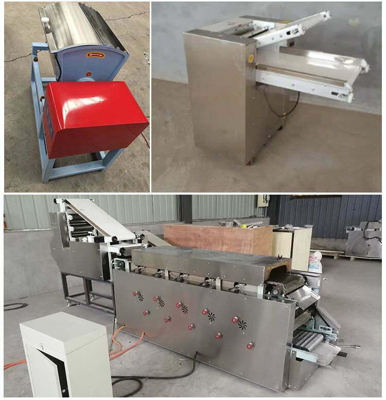 pita bread chapatti processing machine