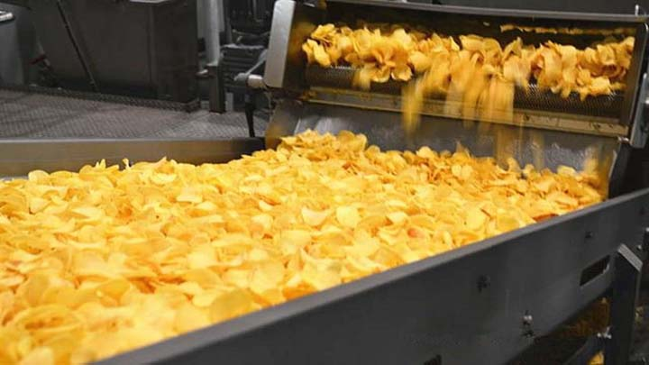 potato chips production innovation