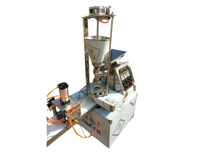 fully automatic paratha encrusting machine
