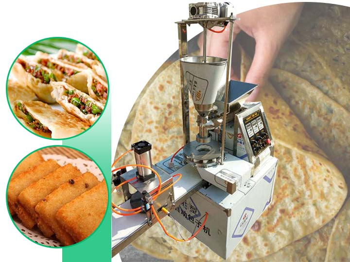 stuffed paratha making machine