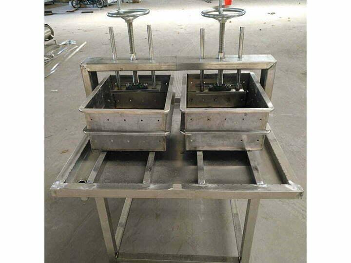 automatic tofu maker machine forming part