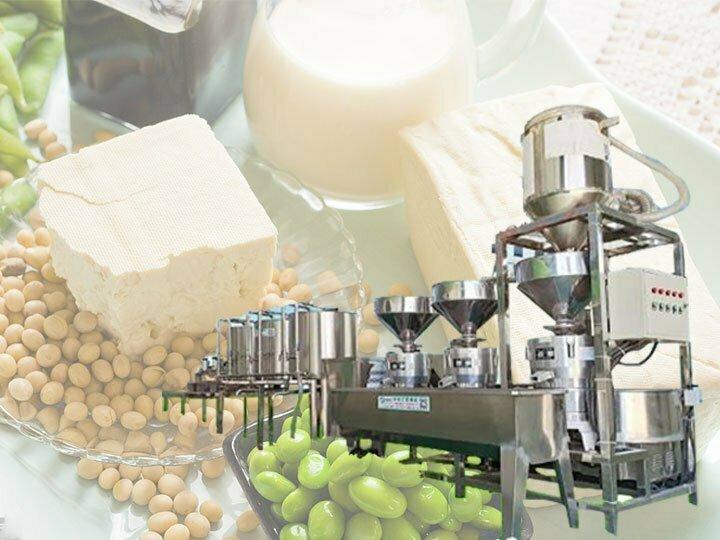 automatic tofu production line