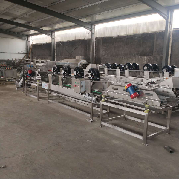 bean sprouts peeling and cooling machine