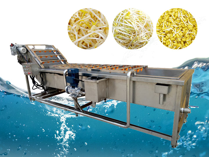 bean sprouts washing machine