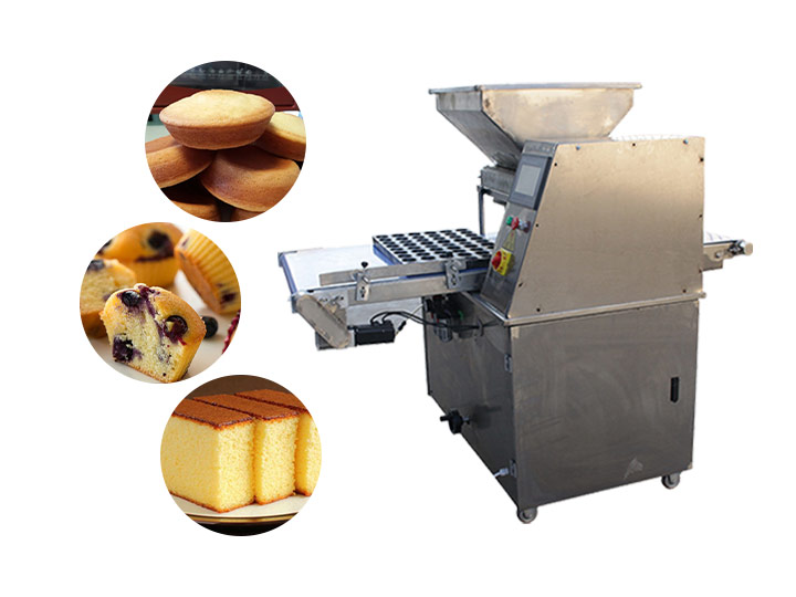commercial cake depositor machine