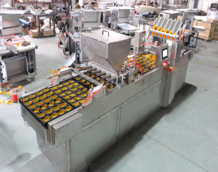 cupcake filling and forming machine