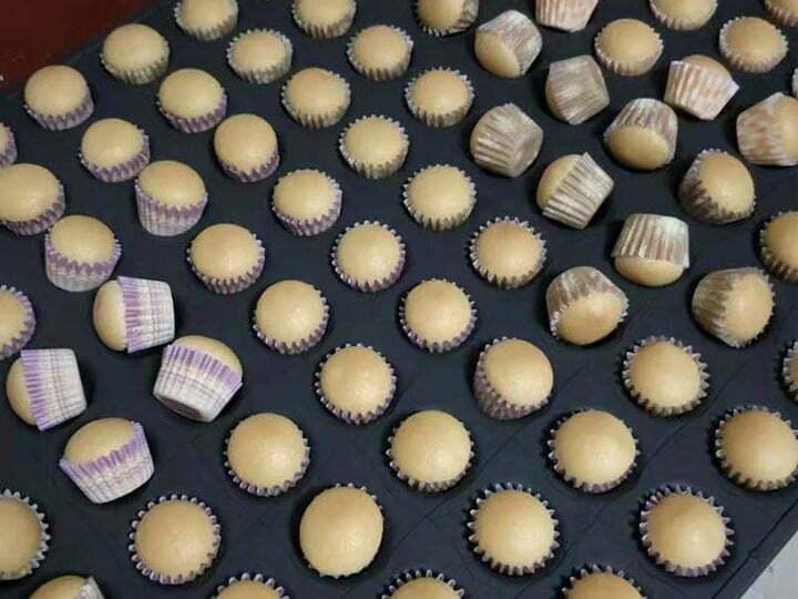 cupcake making machine application