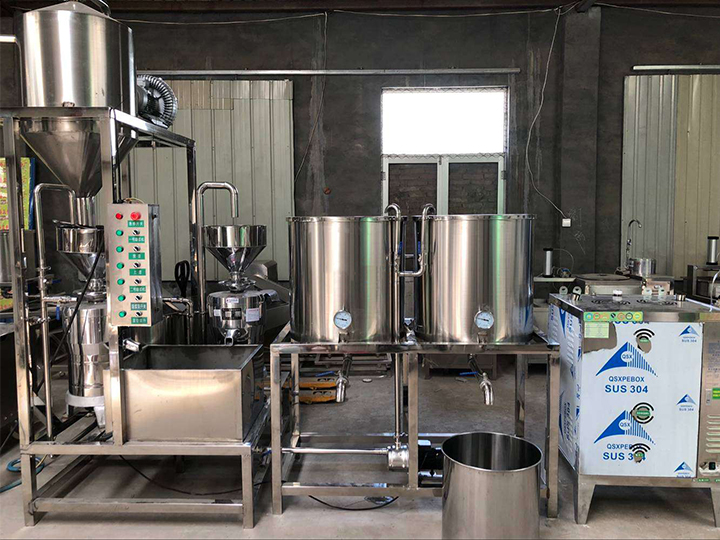 tofu making machines exported to Japan