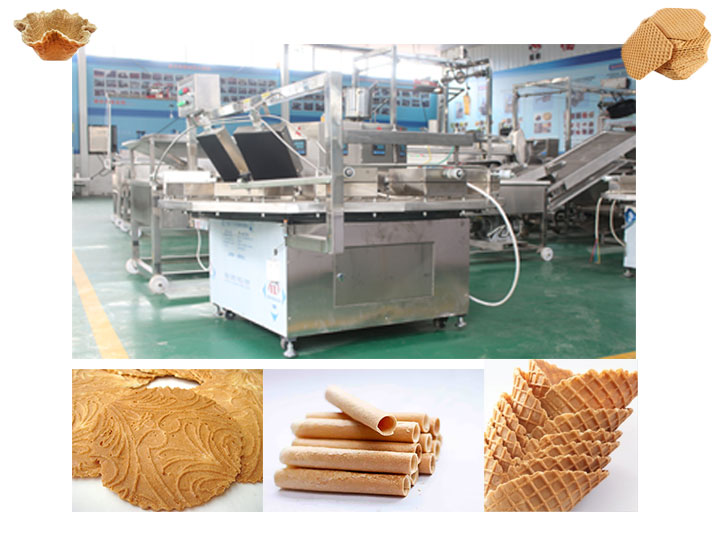 commercial kuih kapit baking machine in Indonesia