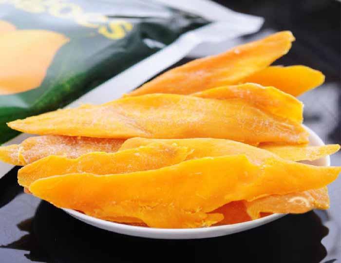 mango dehydrator drying effect